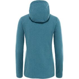 The North Face Mezzaluna Full Zip Hoodie Women storm blue stripe